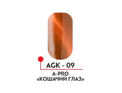 Гель-лак Кошачий глаз №09 А-Про