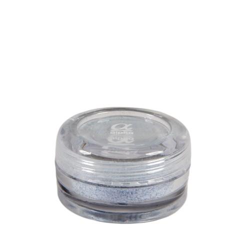 Пигмент перламутровый в баночке ALPHA №03, белый с фиолетовым оттенком