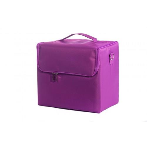 Сумка мастера для инструментов текстиль, цвет фиолетовый 30х30х21 см.