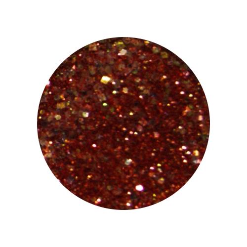 Конфетти в баночке 5гр., цвет терракотовый