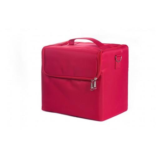 Сумка мастера для инструментов текстиль, цвет красный 30х30х21 см.