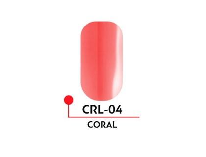 Гель-лак CORAL №04 (5 мл)