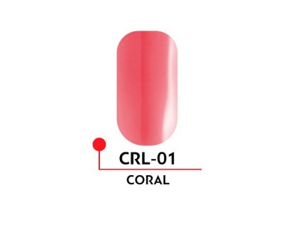 Гель-лак CORAL №01 (5 мл)