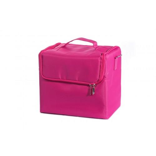 Сумка мастера для инструментов текстиль, цвет розовый 30х30х21 см.