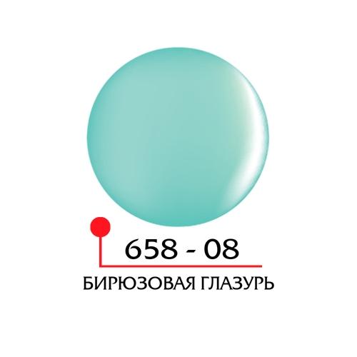 Цветной гель 4Д - бирюзовая глазурь