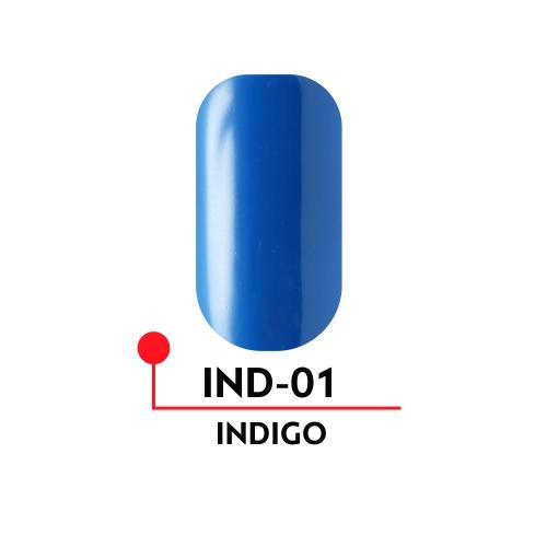 Гель-лак INDIGO №01 (5 мл)