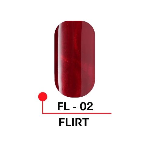 """Гель-лак с эффектом кошачьего глаза """"FLIRT"""" №02, 5 мл."""